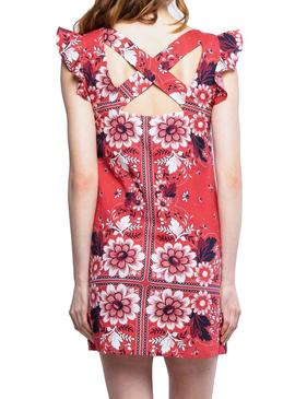 Robe Pepe Jeans Ruby Coral pour Femme