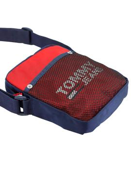 Sac à main Tommy Jeans Cool City Rouge pour Homme