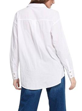 Chemise Only Carry Blanc pour Femme