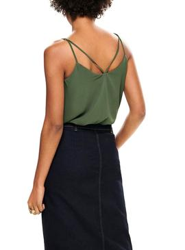 Top Only Moon Vert pour Femme