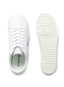 Baskets Lacoste Carnaby 120 Blanc pour Homme
