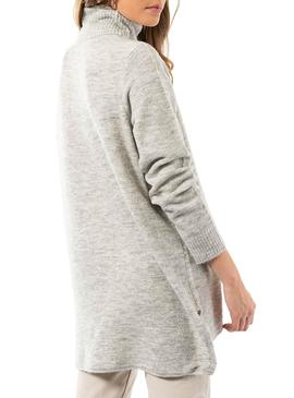Pull Only Corinne Gris pour Femme