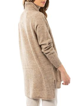 Pull Only Beige Corinne pour Femme