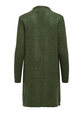 Cardigan Only Jade Vert pour Femme