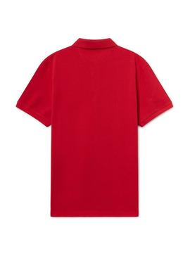 Polo Hackett New Classic Homme Rouge