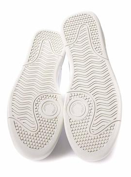 Baskets Fred Perry B200 Blanc pour Homme