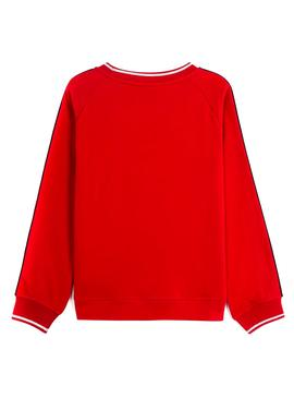 Sweat Mayoral Cheer Rouge pour Fille