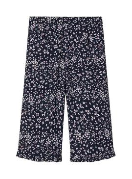 Pantalon Name It Vinaya Culotte Bleu marine pour Fille