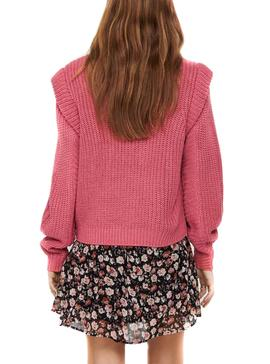 Pull Only Rose Lexine pour Femme