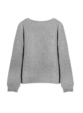 Sweat Name It Flexia Gris pour Fille