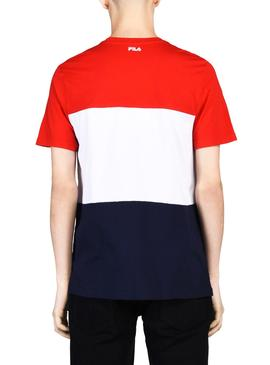 T-Shirt Fila Day Rouge Homme