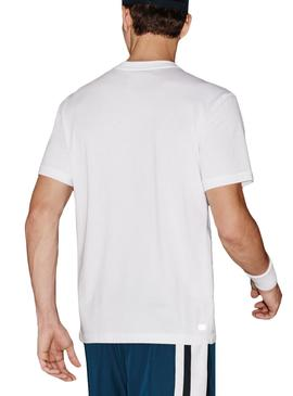 T- Shirt Lacoste Sport TH7618 Blanc