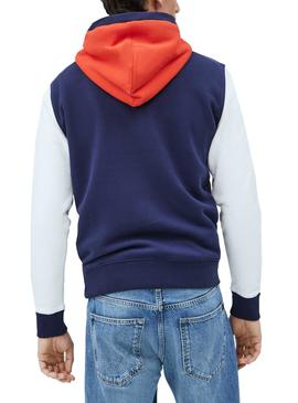 Sweat Pepe Jeans Thomas Rouge pour Homme