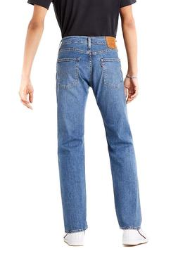Jeans Levis 502 Taper Wagyu Bleu Homme