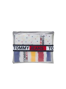 Chaussettes Tommy Jeans TH Uni Paint Blanc