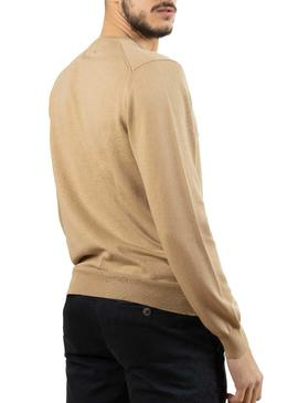 Pull Klout Pico Camel pour Homme
