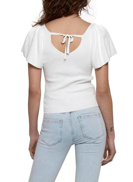 T-Shirt Only Leelo Blanc pour Femme