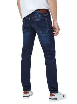 Jeans Pepe Jeans Hatch Bleu marine Homme
