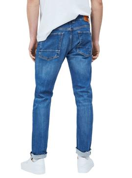 Jeans Pepe Jeans Stan Craft Bleu Homme